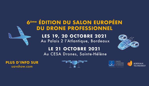 Aube au Salon Européen du Drone Professionnel